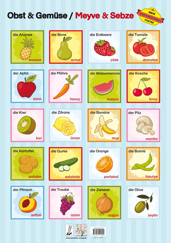 Obst & Gemüse / Türkisch