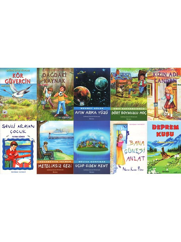 Çagdas, Çocuk Mini Set - 4 (10 Kitap Takim)