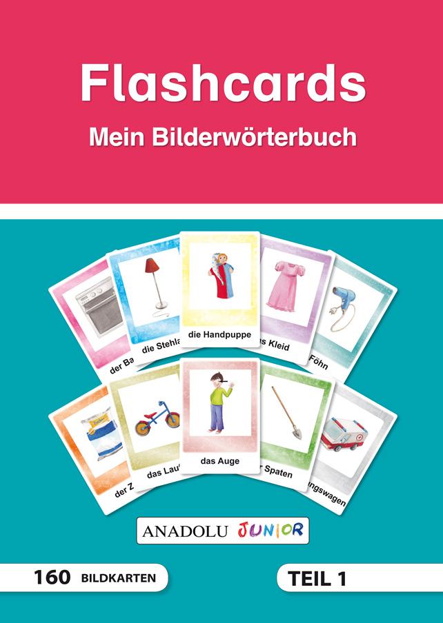 Flashcards Mein Bilderwörterbuch Teil 1