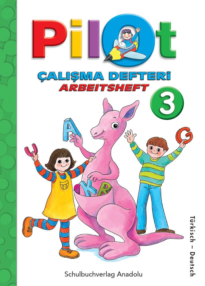 Pilot 3 Almanca - Türkçe Çalışma Defteri