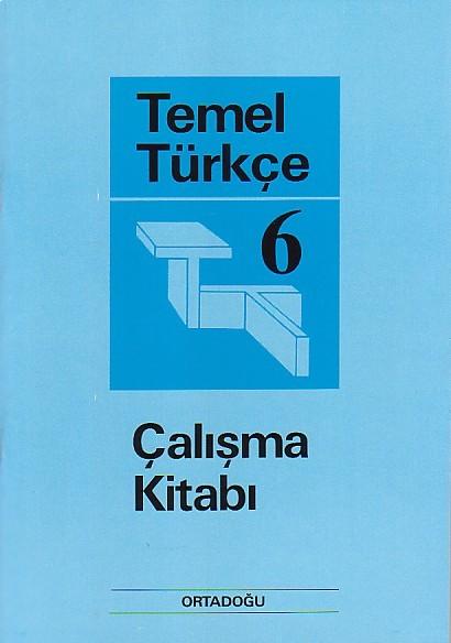 Temel Türkçe 6 Çalışma Defteri