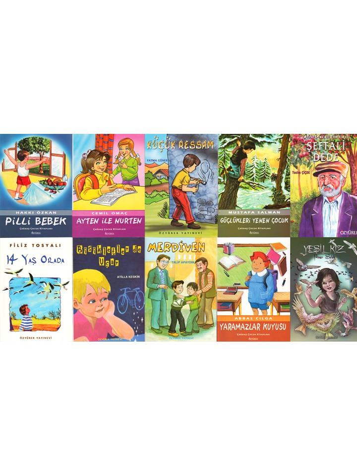 Çagdas, Çocuk Mini Set - 3 (10 Kitap Takim)