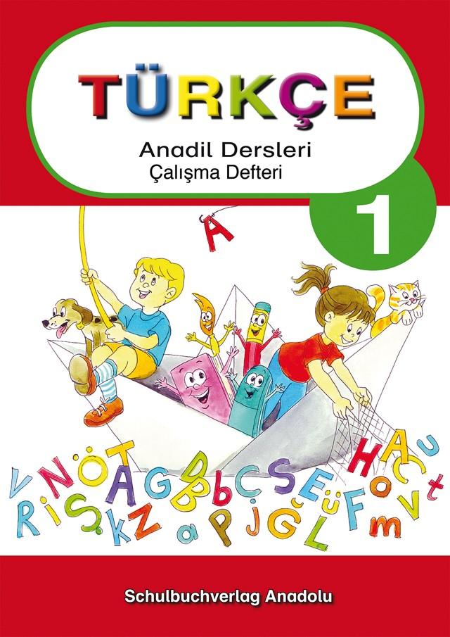 Türkçe Anadil Dersleri 1 Çalışma Defteri