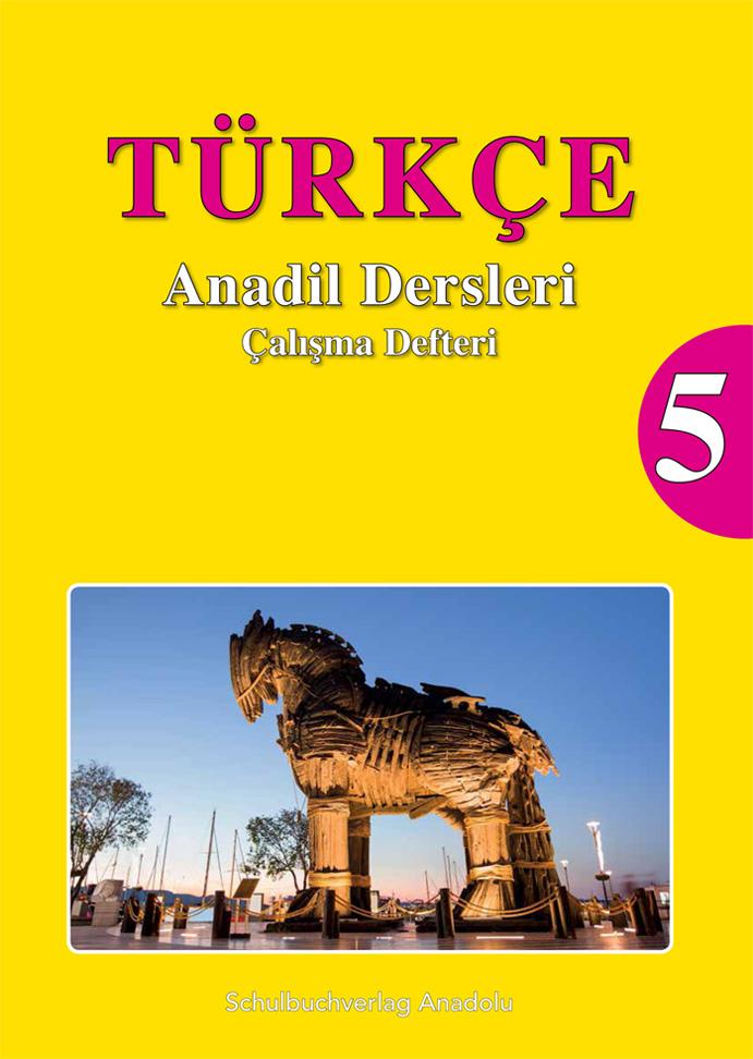 Türkçe Anadil Dersleri 5 Çalışma Defteri