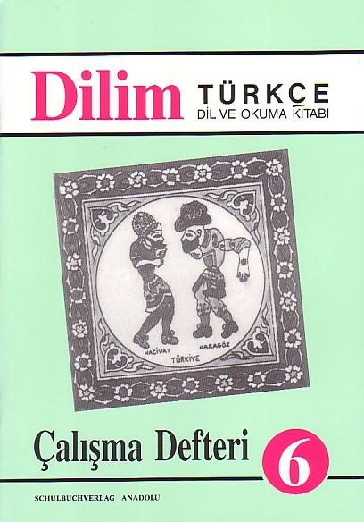 Dilim Türkçe 6 Çalışma Defteri