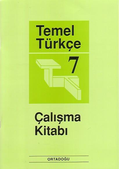 Temel Türkçe 7 Çalışma Defteri