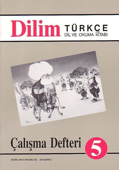 Dilim Türkçe 5 Çalışma Defteri