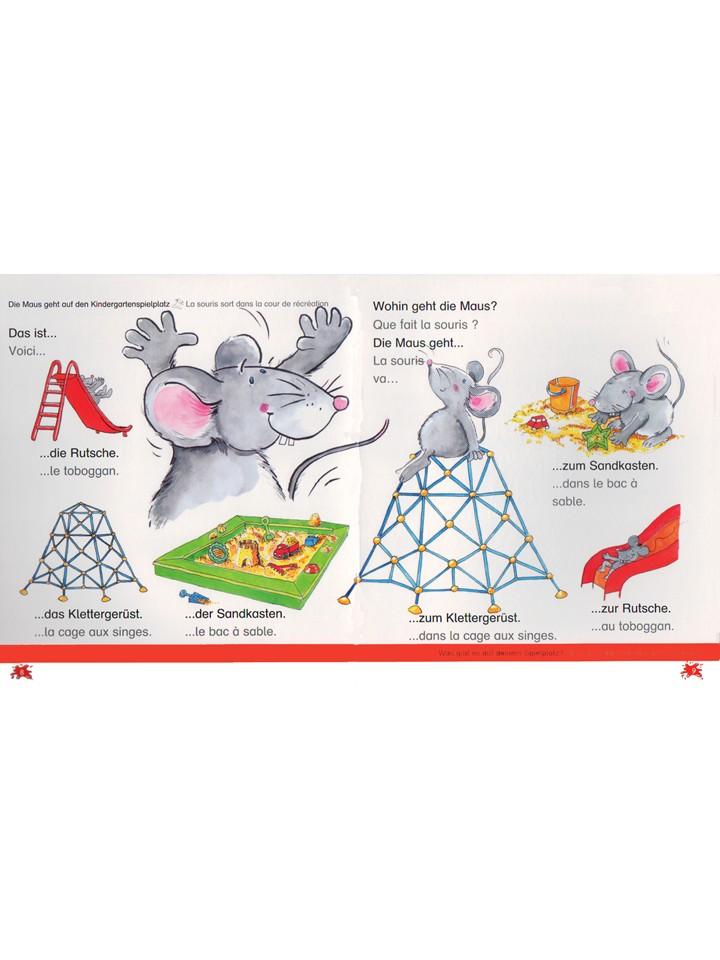 Hallo, liebe Maus! Im Kindergarten Fran.