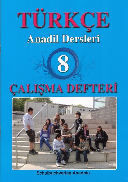 Türkçe Anadil Dersleri 8 Çalışma Defteri