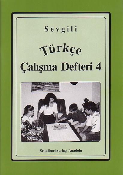 Sevgili Türkçe Çalışma Defteri 4