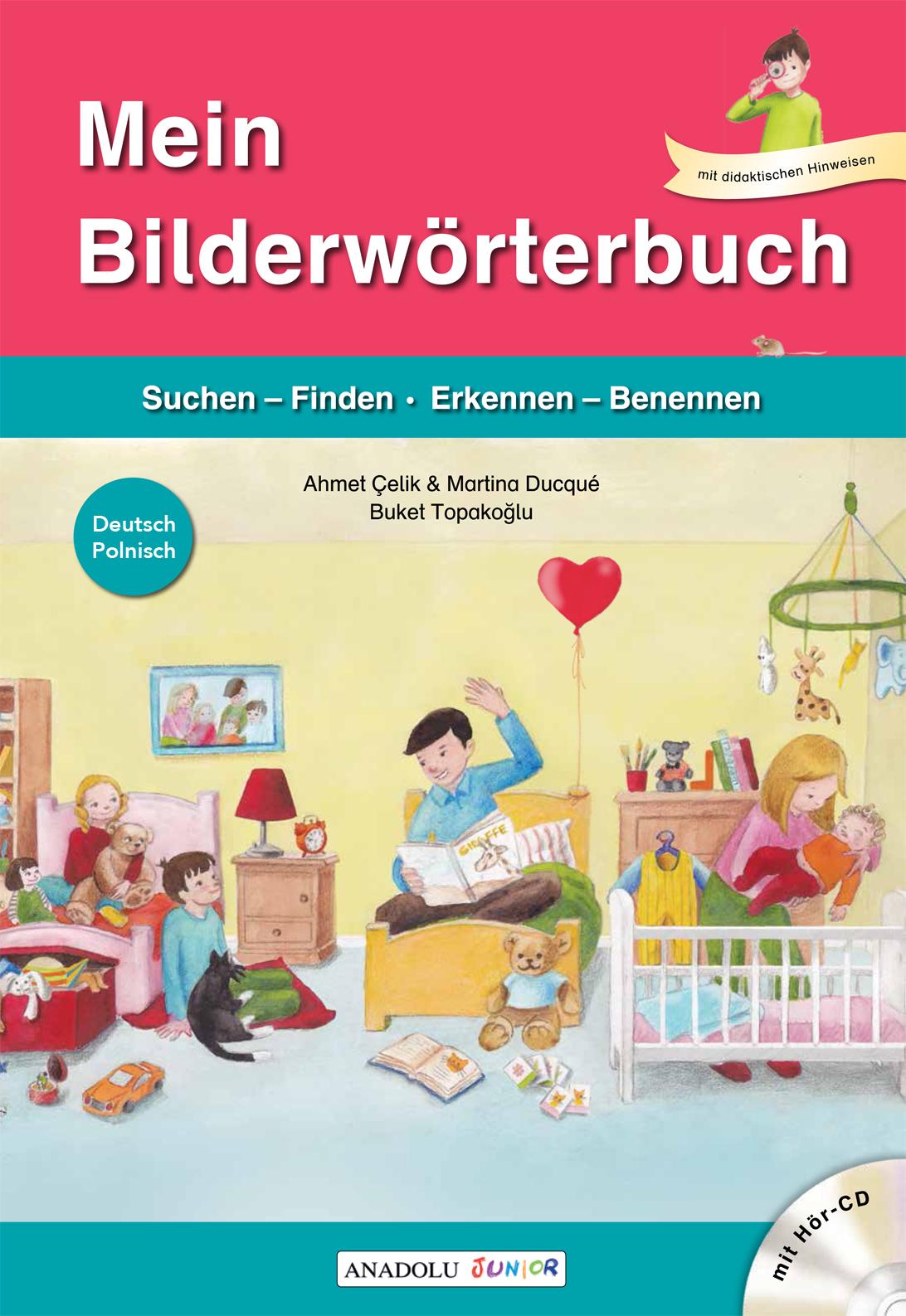 Mein Bilderwörterbuch mit Hör-CD Polnisch