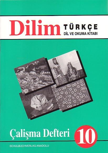 Dilim Türkçe 10 Çalışma Defteri