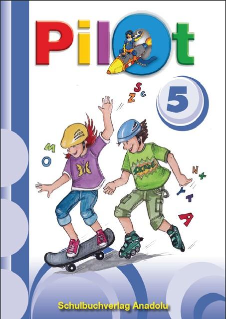 Pilot 5 Almanca - Türkçe Ders Kitabı