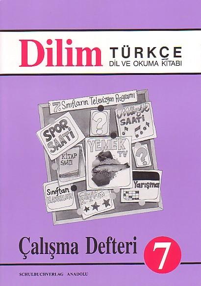 Dilim Türkçe 7 Çalışma Defteri