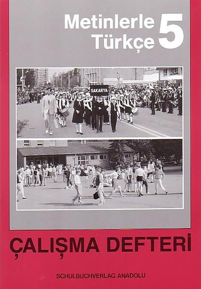 Metinlerle Türkçe 5 Çalışma Defteri
