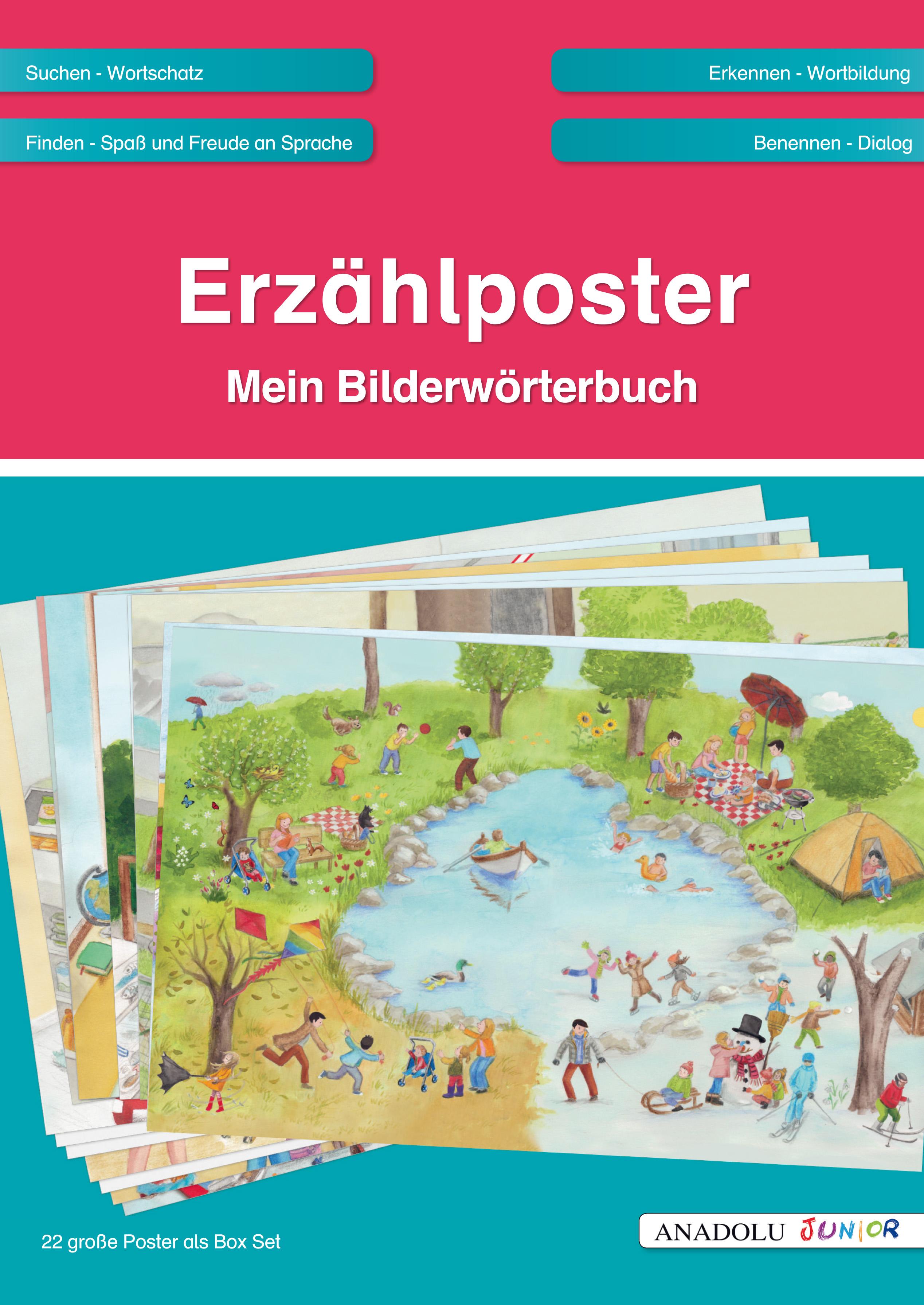Erzählposter Mein Bilderwörterbuch